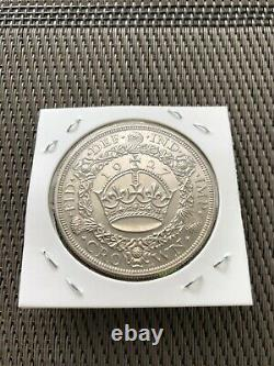 1927 UK Great Britain Crown To 3d 6 Silver Coin Proof Set With Original Case