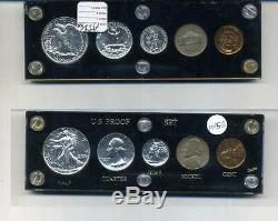 1941 United States Silver 5 Coin Proof Set With Holder 1015e