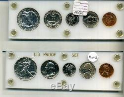 1941 UNITED STATES SILVER 5 COIN PROOF SET WITH HOLDER 1243E