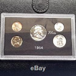 1945-2015 U. S. Silver Proof & Mint sets Lot. Complete 70 year run with case