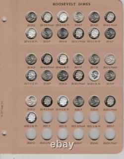1946-2020 PDSS Roosevelt Complete UNC BU Gem Proof Clad & Silver Set. Read P. S