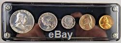 1954 1C-50C Proof Coin Set US Mint Silver