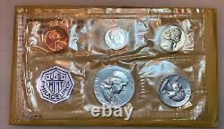1955-1956-1957-1958-1959-1960-1961-1962-1963-1964 US mint silver proof sets OGP