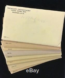 1957-1964 Us Mint Silver Proof Set Run Last 8 Years 90% Silver Ogp