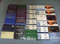 1965-2016 s U. S. Mint Proof sets Silver and Clad
