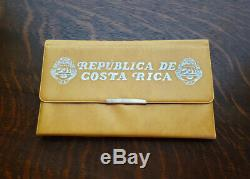 1970 Costa Rica Silver Proof Set with 25, 20,10, 5, & 2 Colones with COA #1363