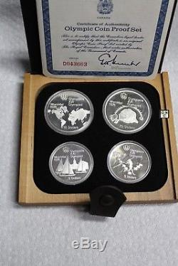 1976Proof Silver Canadian Montreal Olympic Games Coins Sets(Lot of 7 sets)(OOAK)