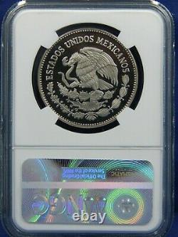 1983 Mo 50 P PESOS NGC ULTRA CAMEO PROOF MEXICO FROM 1983 SILVER ONZA SET 998MTG