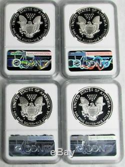 1986 2016 W Ngc Proof 69 Uc American Silver Eagles 28 Coin Set Please Read