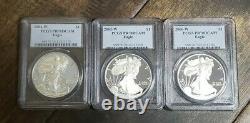 1986-2020 $1 American Silver Eagle PR70 DCAM Proof Set 34 Total Coins PCGS