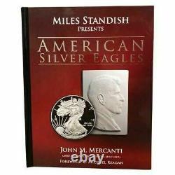 1986-2021 $1 Silver Eagle 35-pc Set NGC PF70 Ultra Cameo Mercanti Signed