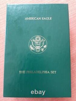 1993 American Eagle Phila. Gold & Silver Coins Rare, Proof Set