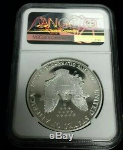 1995 W Proof American Silver Eagle NGC PF68 Ultra Cameo Anniversary Set