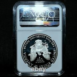 1995-w $1 Proof Silver American Eagle Ngc Pf-69 Anniversary Set Pr Trusted