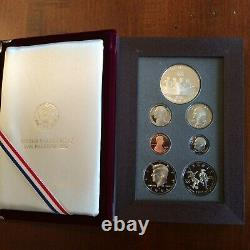 1996-S US Mint Prestige Proof Set Atl Centennial Olympic Dollar. 7 coins