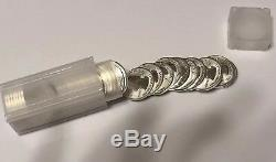 1-Roll-2018 S San Francisco Mint Silver Reverse Proof Quarters Roll 40 Coins