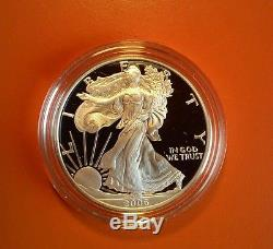 2006 American Eagle 20th Anniversary Silver Coin Set, Reverse Proof U. S. Mint