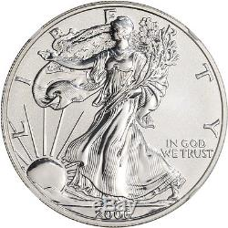 2006-P American Silver Eagle Reverse Proof $1 NGC PF70 20th Anniversary Set