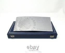 2006 Silver Proof Queens 80th Birthday Coin Set Maundy Money COA Box Gift