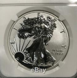 2011-P Reverse Proof Silver Eagle 25th anniversary set NGC PF70