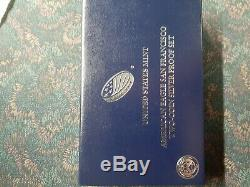 2012 American Eagle San Francisco Two-Coin Silver Proof Set US Mint OGP & COA