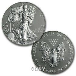 2012-S 2-Coin Silver American Eagle San Francisco Set withBox & COA