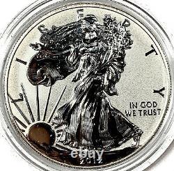 2012-S Reverse Proof Silver Eagle SAN FRANCISCO 2-Coin Set with BOX/COA