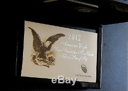 2012-S SF Proof and Rev Silver Eagle 2-Coin Set PF-70 NGC ER, Trolley Label withOGP