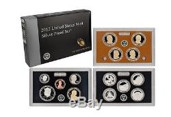 2012 United States Silver Proof Set (Nice original set)