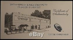 2013-W American Silver Eagle 2-Coin Set. Gem Uncirculated Ultra Cameo Proofs