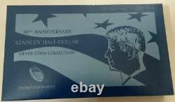 2014 KENNEDY 50th ANNIVERSARY HALF DOLLAR SILVER COIN SET IN ORIGINAL PACKAGING