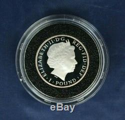 2014 Silver Proof Britannia 6 coin set in Case with COA (AC9/47)