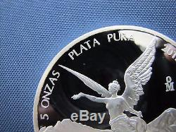 2015 Silver Libertad 7 Coin Proof Set 5, 2, 1, 1/2, 1/4, 1/10/ & 1/20 oz COA#236