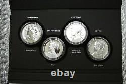 2017 American Liberty 225th Anniversary Silver Four-Medal Set (withBox and COA)