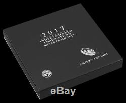 2017 Limited Edition Silver Proof Set S Mint with Proof Silver Eagle IN HAND