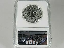 2018 S Silver Kennedy Half Dollar From Reverse Proof Set NGC Pf 70 Rev. Pf