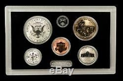 2018 San Francisco Mint Silver Reverse Proof Set INCLUDES LIGHT FINISH KENNEDY