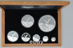 2019 Mexico Libertad Silver 7 Coin proof set