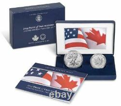 2019 Pride of Two Nations Limited Edition Two Coin Set (19XB)