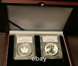 2019 Pride of Two Nations PCGS PR 70 Royal Canadian Mint Set