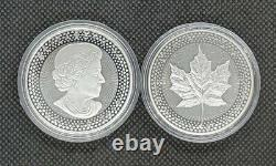 2019 Pride of Two Nations Set Silver Proof Eagle & Maple Leaf with OGP Box & COA