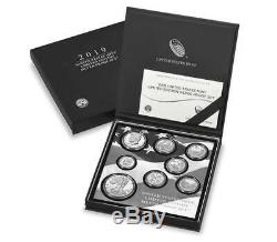 2019-S Limited Edition Silver 8 Coin Proof Set