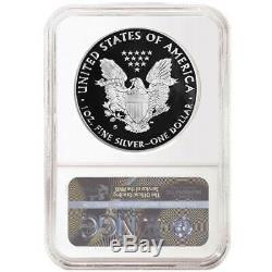 2019-S Proof $1 American Silver Eagle 3pc. Set NGC PF70UC Black ER Label Red Whi