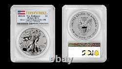 2019 S Silver Eagle ENHANCED REVERSE Proof Baltimore Label 19XE PCGS PR70