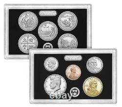 2019 Silver Proof Set & First W Mint Reverse Proof Cent, Ngc Reverse Pf70rd