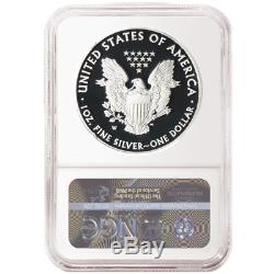 2019-W Proof $1 American Silver Eagle Congratulations Set NGC PF70UC Brown Label
