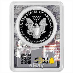 2019-W Proof $1 American Silver Eagle Congratulations Set PCGS PR70DCAM FDOI Apo