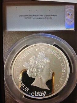 2020 3 Graces silver proof £25 5 oz coin PCGS PR70DCAM First Strike