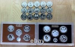 2020 PDSSS 25 Coin National Park ATB Quarter Set w 99.9% Silver Proofs