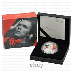 2020 Royal Mint Music Legends DAVID BOWIE Silver Proof One Ounce 1oz Boxed